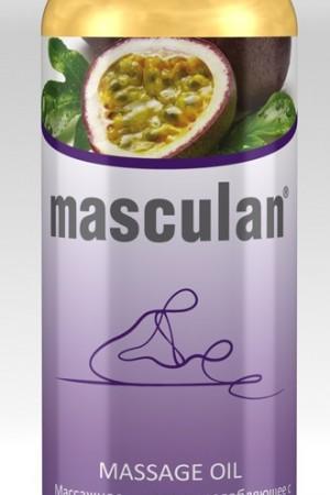 Массажное масло Masculan расслабляющее с ароматом тропических фруктов 200мл