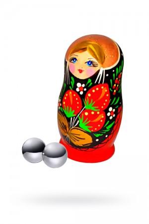 Вагинальные шарики Sitabella металлические, Ø1,9 см