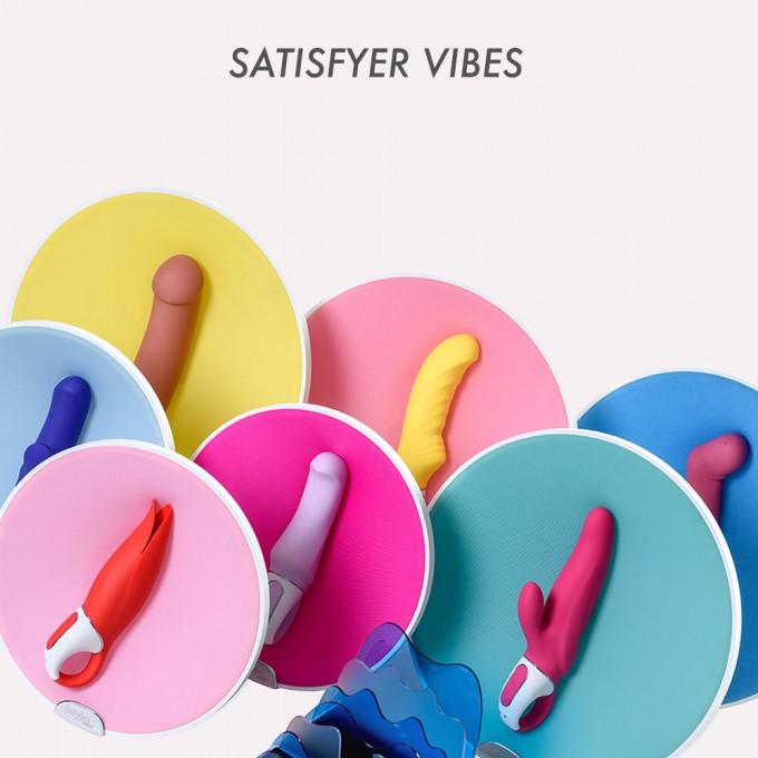 «Сочные» вибраторы от Satisfyer: обзор линейки Vibes