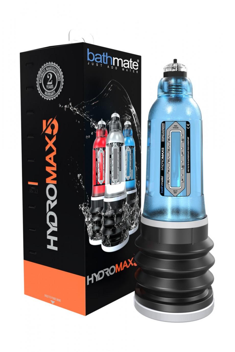Гидропомпа Bathmate HYDROMAX5, голубая