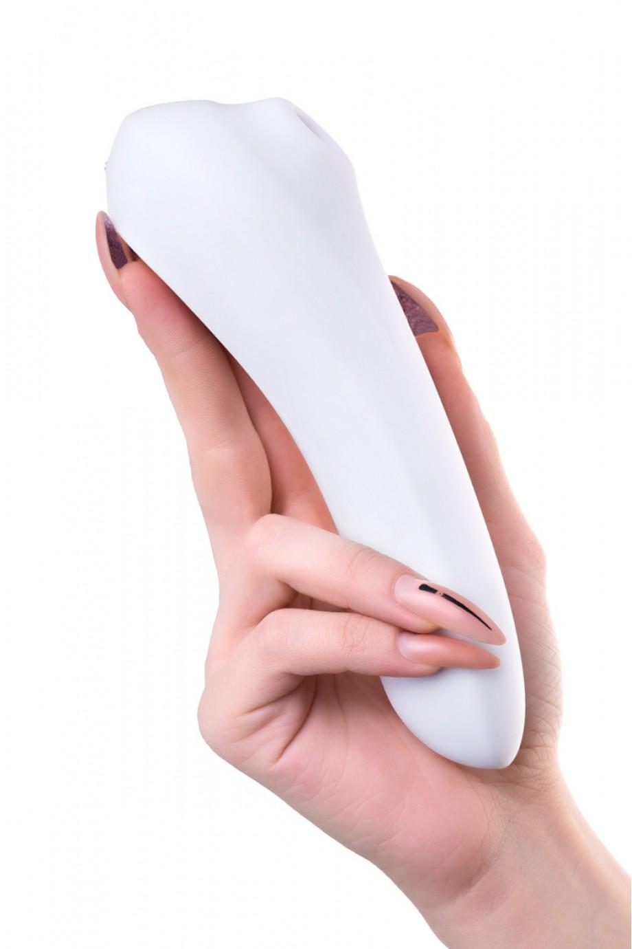 Вакуумный бесконтактный стимулятор клитора Satisfyer Dual Pleasure, белый