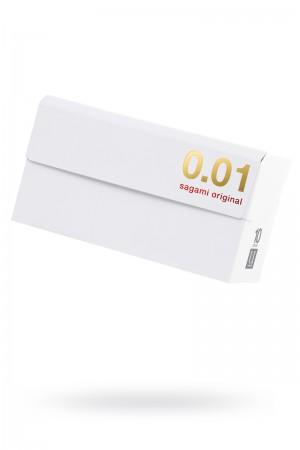 Презервативы полиуретановые Sagami Original 001, 10 шт