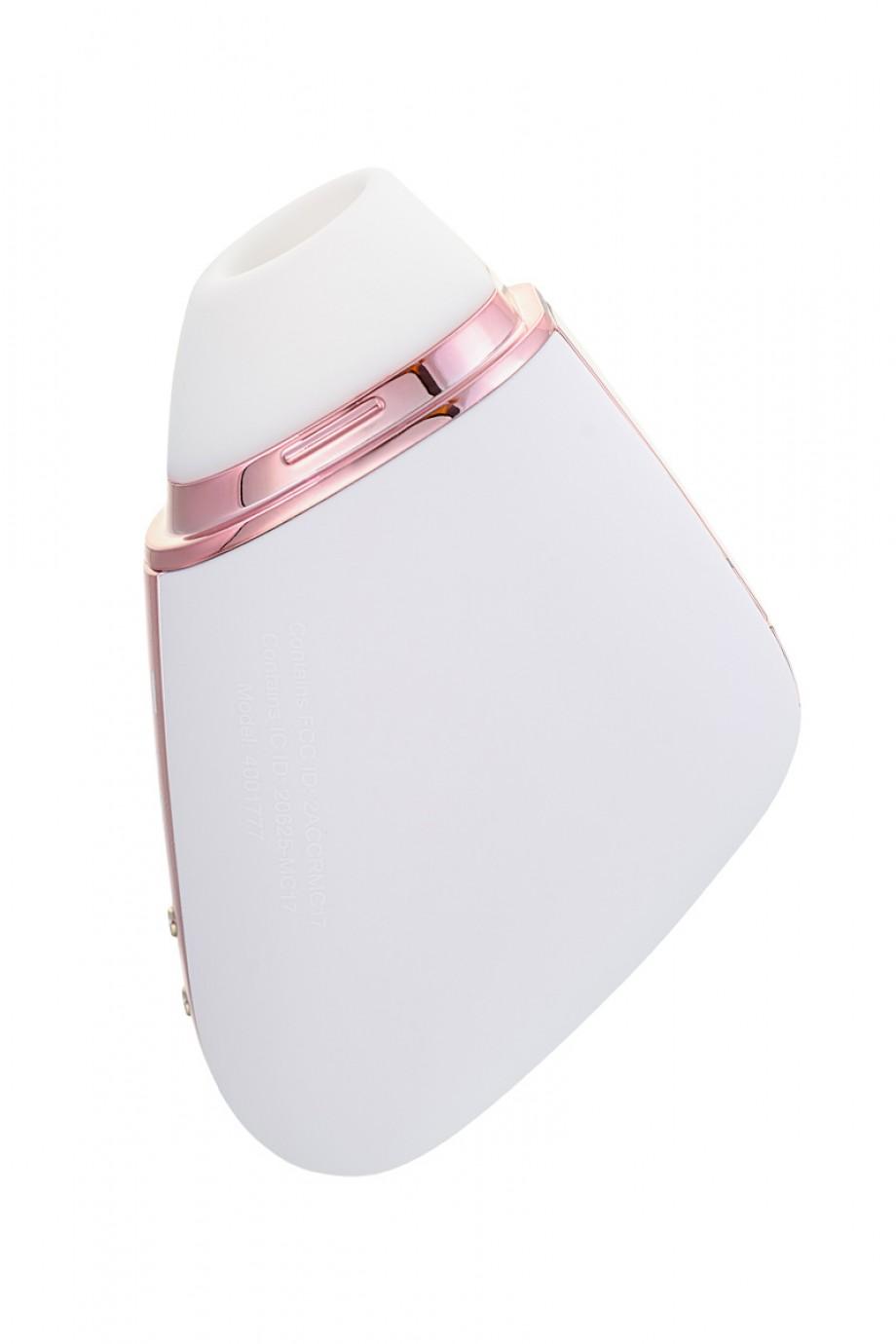 Вакуумный бесконтактный стимулятор клитора Satisfyer Love Triangle, белый