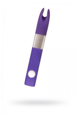 Вибратор Qvibry Q2, клиторальный, фиолетовый