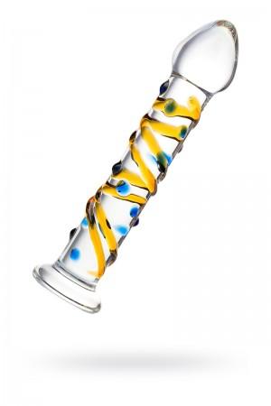 Фаллоимитатор Sexus Glass, стекло, прозрачный