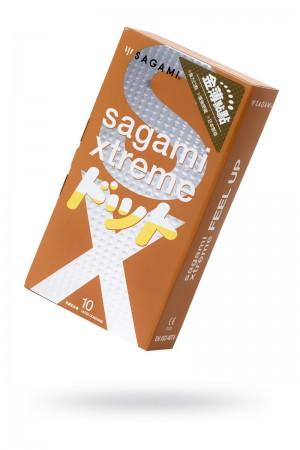 Презервативы латексные Sagami Xtreme Feel Up, 10 шт