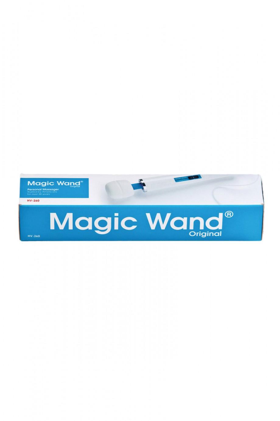 Вибромассажер Magic Wand HV-260, белый
