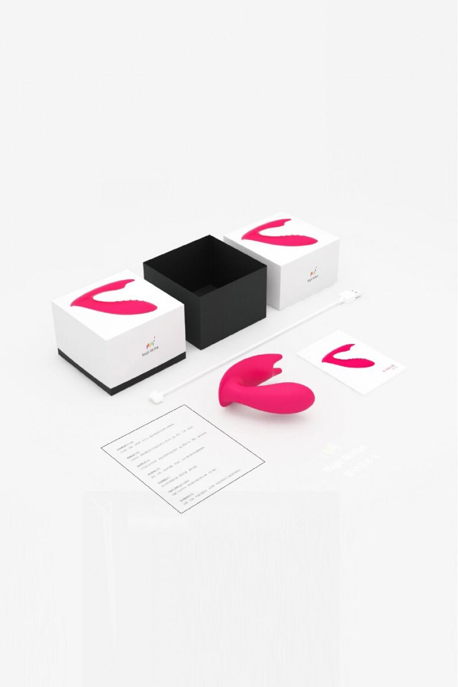 Стимулятор Magic Motion EIDOLON,розовый