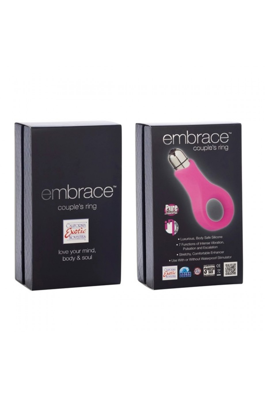Вибронасадка Embrace Couples Ring - Pink розовая