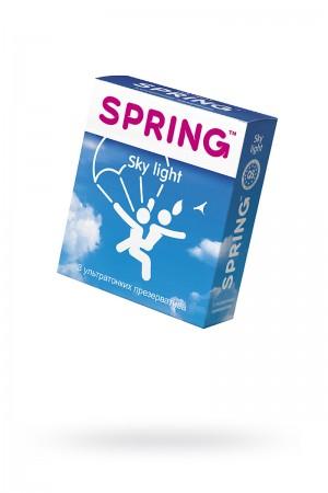 Презервативы Spring Sky Light, ультратонкие, 3 шт
