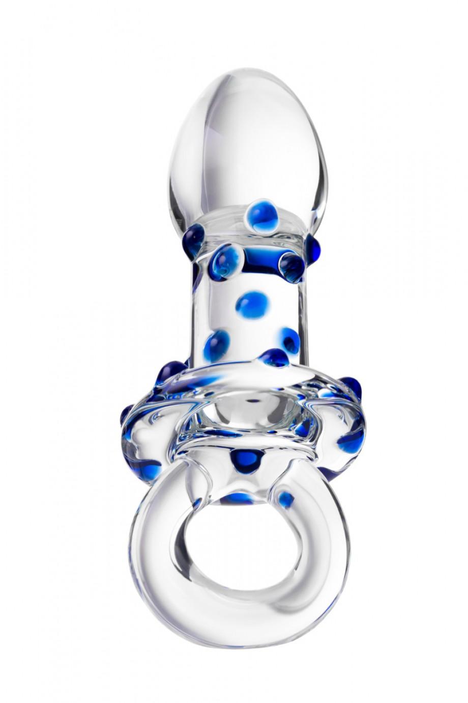 Анальная пробка Sexus Glass, Стекло, Прозрачный, 12,7 см