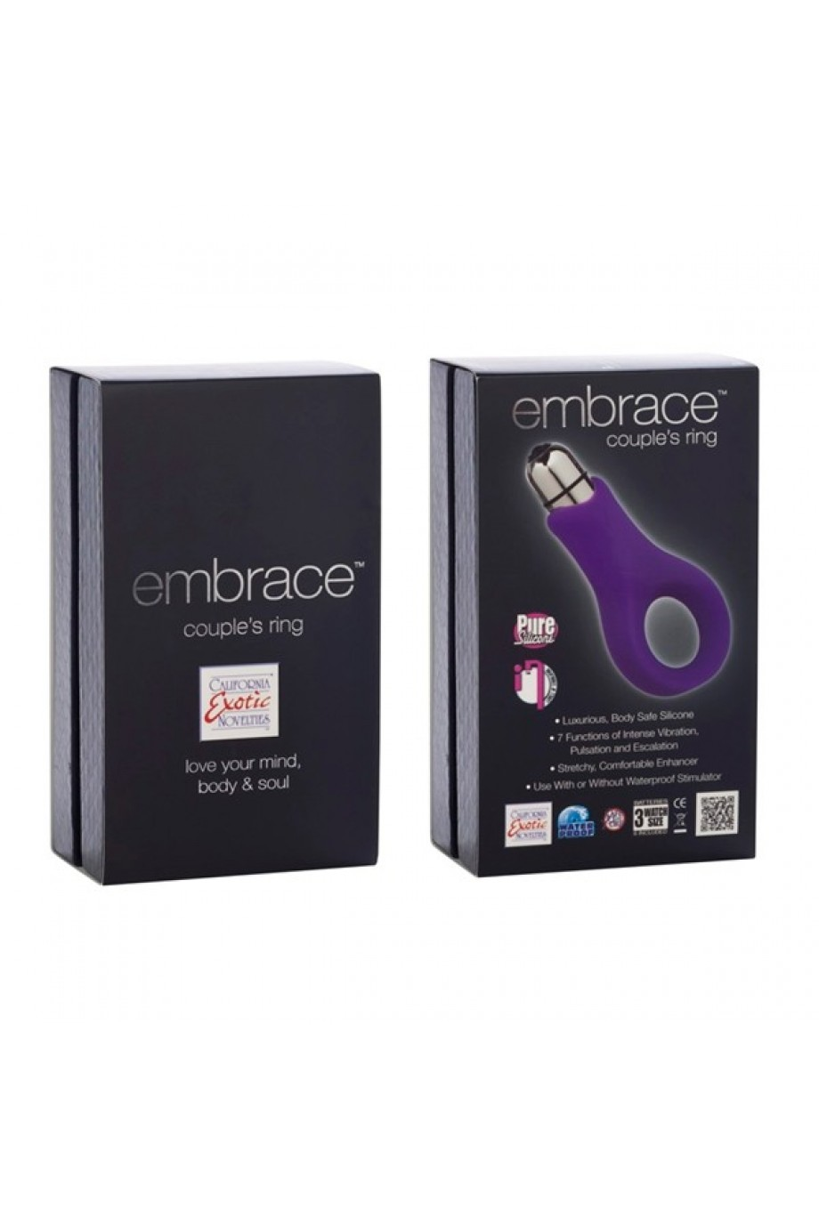 Вибронасадка Embrace Couples Ring - Purple фиолетовая