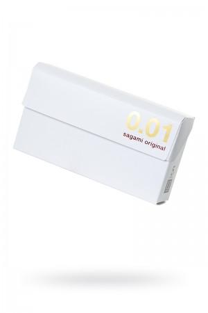 Презервативы полиуретановые Sagami Original 001, 5 шт