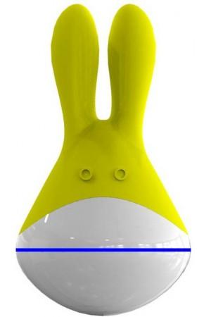 Массажер Totoro желтый 9 см