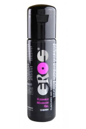 Гель для массажа ''Карамель'' 100 мл. Kissable Massage Gel Warming – Cherry 100 ml.