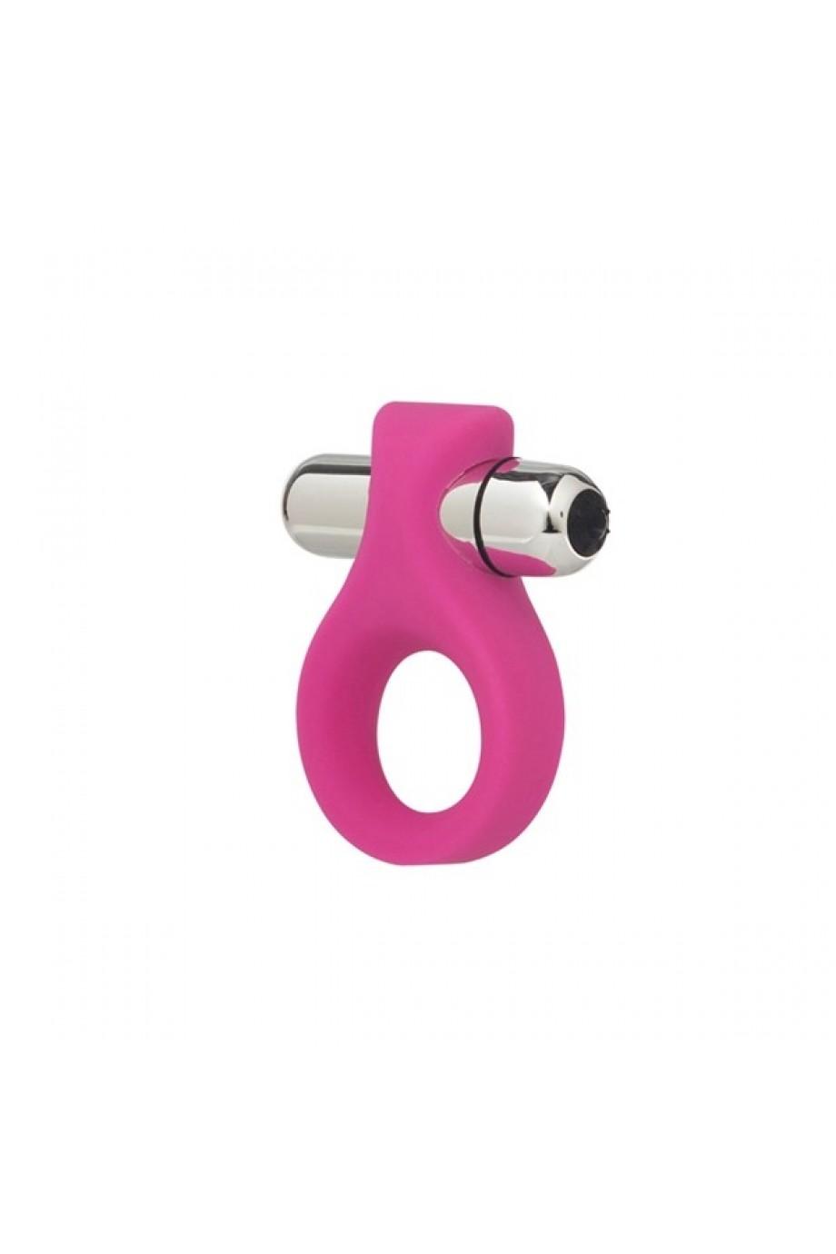 Вибронасадка Embrace Lovers Ring - Pink розовая
