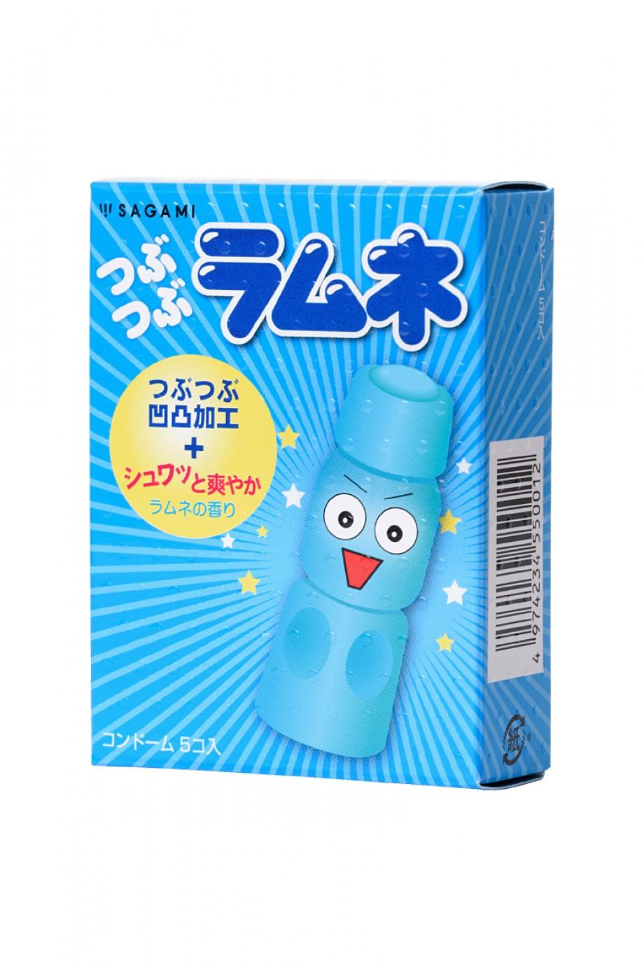 Презервативы латексные Sagami Lemonade, 5 шт