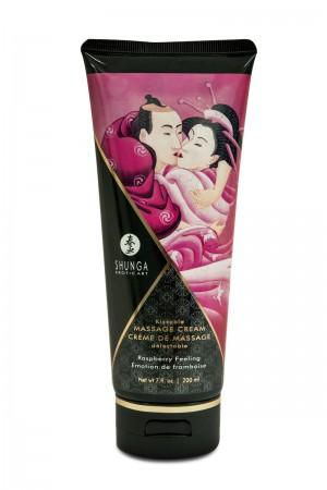 Массажный крем Shunga «Малиновое чувство», съедобный, со вкусом малины, 200 мл