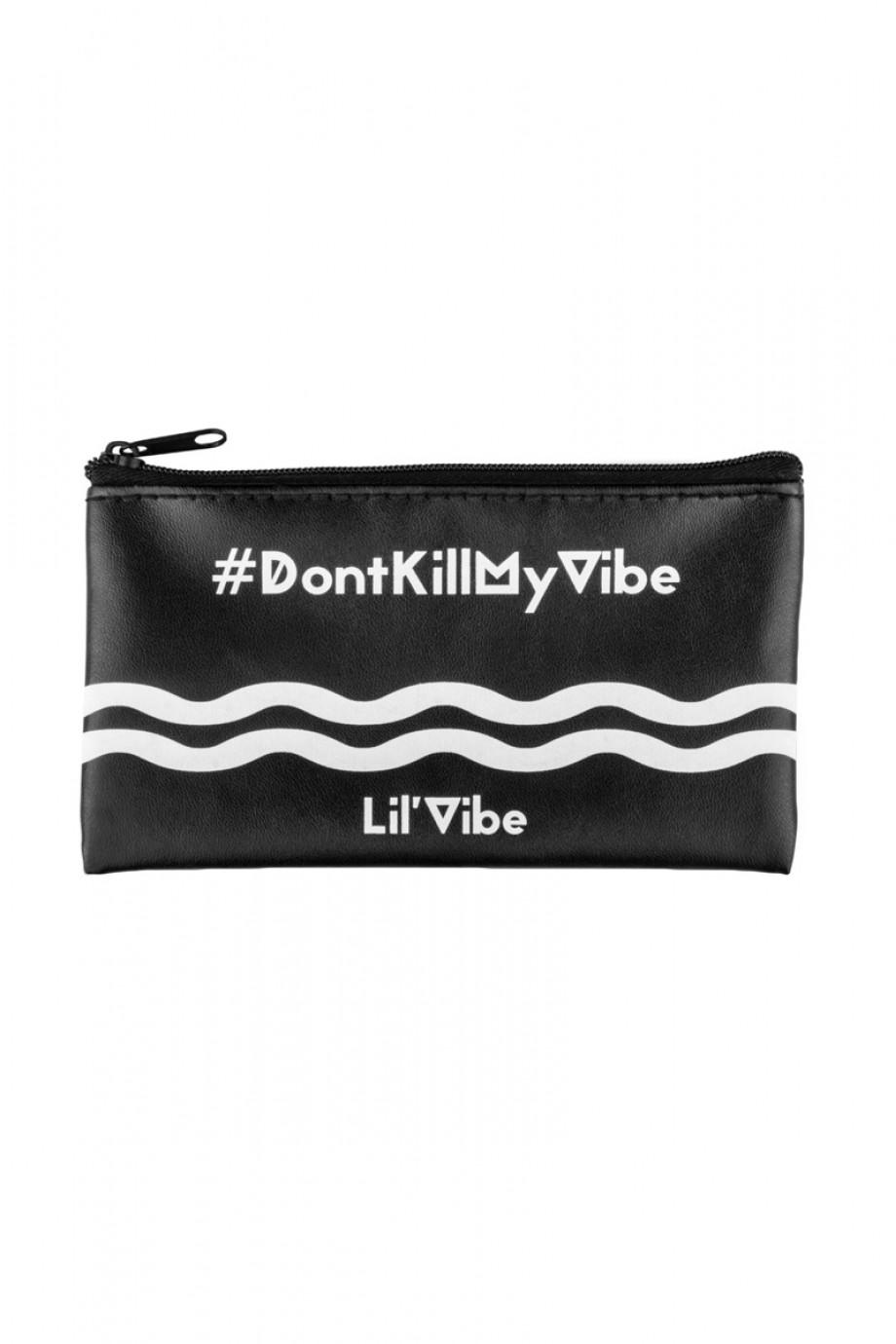 Вибратор Lil'Vibe, 10 режимов вибраций, силикон, розовый, 10 см