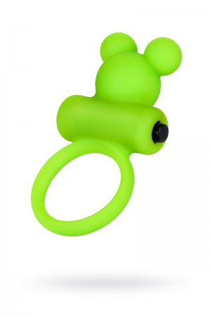Эрекционное кольцо A-Toys by TOYFA, зеленое