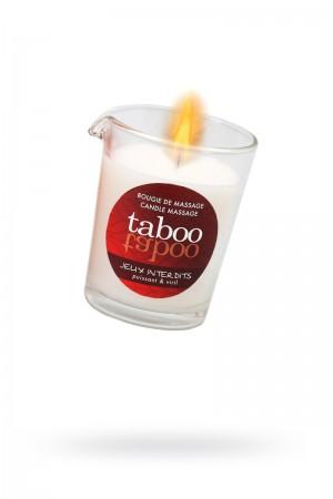 Массажное аромамасло RUF Taboo Jeux interdits, с афродизиаками для мужчин, древесный аромат, 60 г