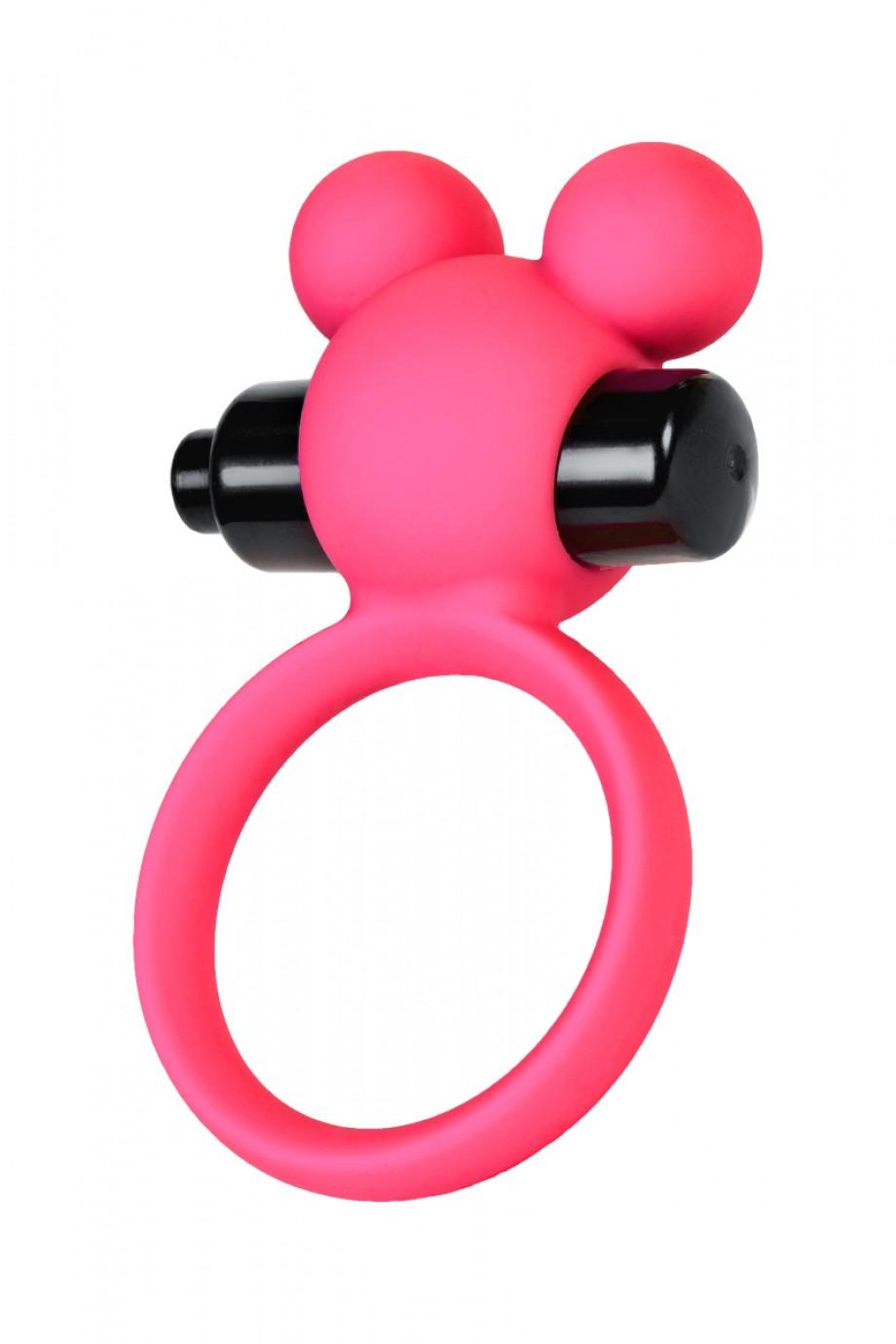 Эрекционное кольцо A-Toys by TOYFA, розовое
