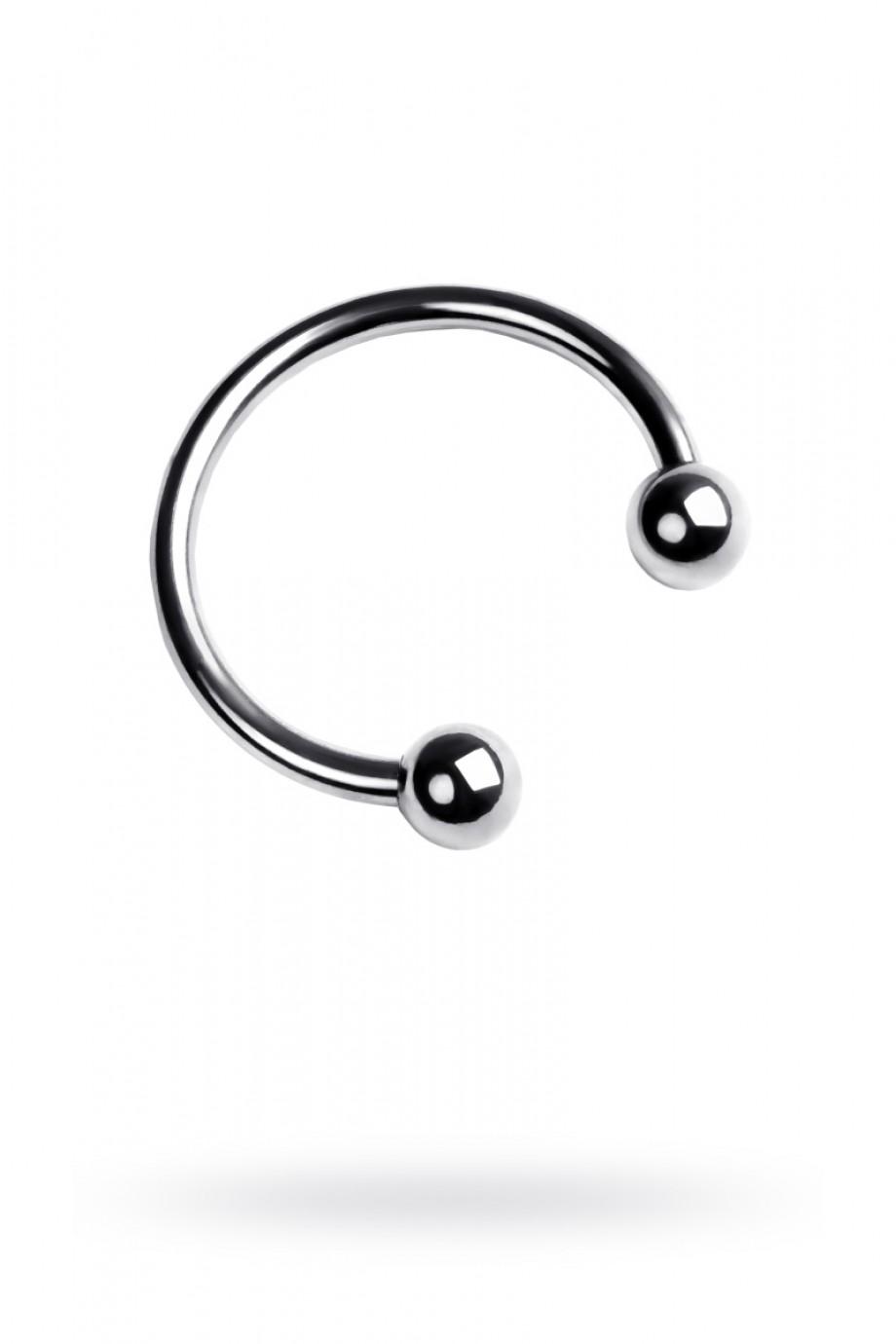 Эрекционное кольцо Metal by TOYFA, серебристый