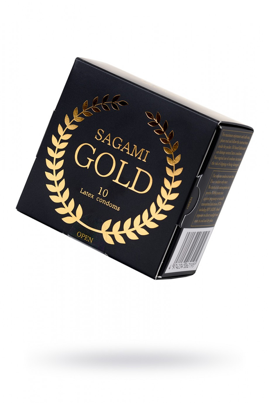 Презервативы латексные Sagami Gold, 10 шт