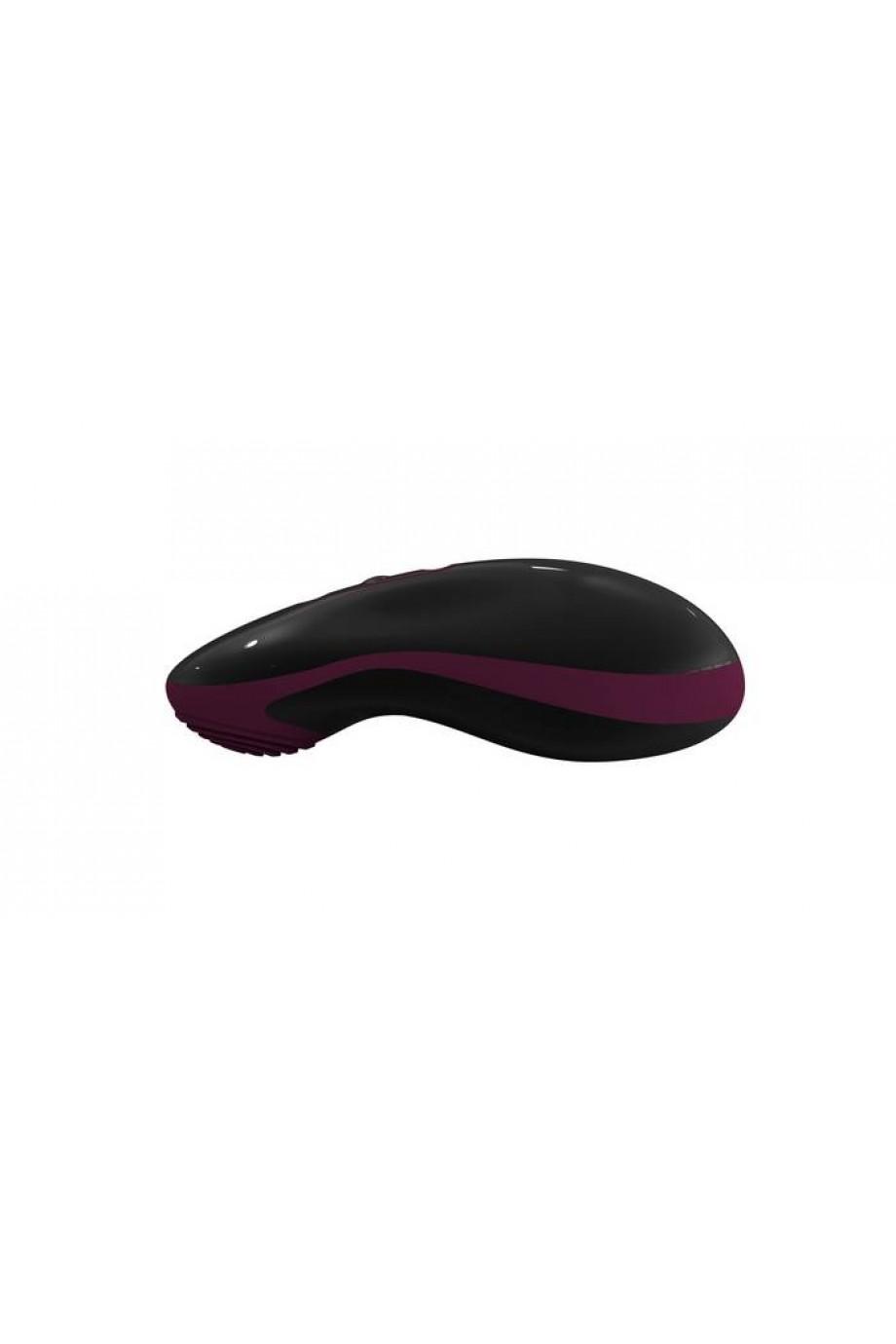 Вибростимулятор Mouse черно-фиолетовый 10 см