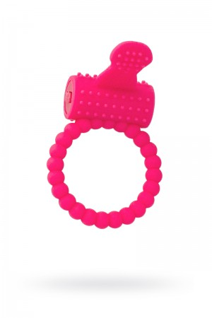 Эрекционное кольцо A-toys by TOYFA, розовый