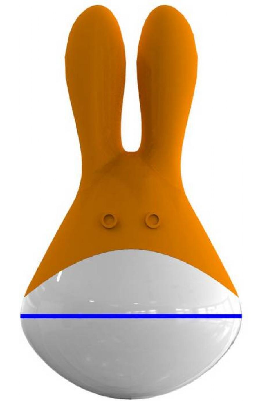 Массажер Totoro оранжевый 9 см