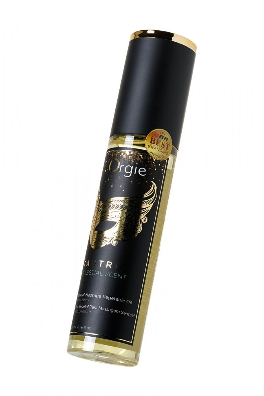 Растительное массажное масло Orgie Tantric celestial scent, 200 мл