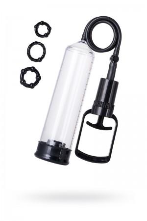 Вакуумная помпа TOYFA A-Toys, PVC, Чёрный, 23,5 см