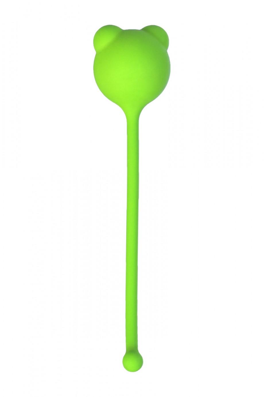 Вагинальный шарик A-Toys by TOYFA, зеленый, Ø 2,7
