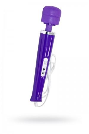 Вибромассажер Magic Wand проводной, фиолетовый