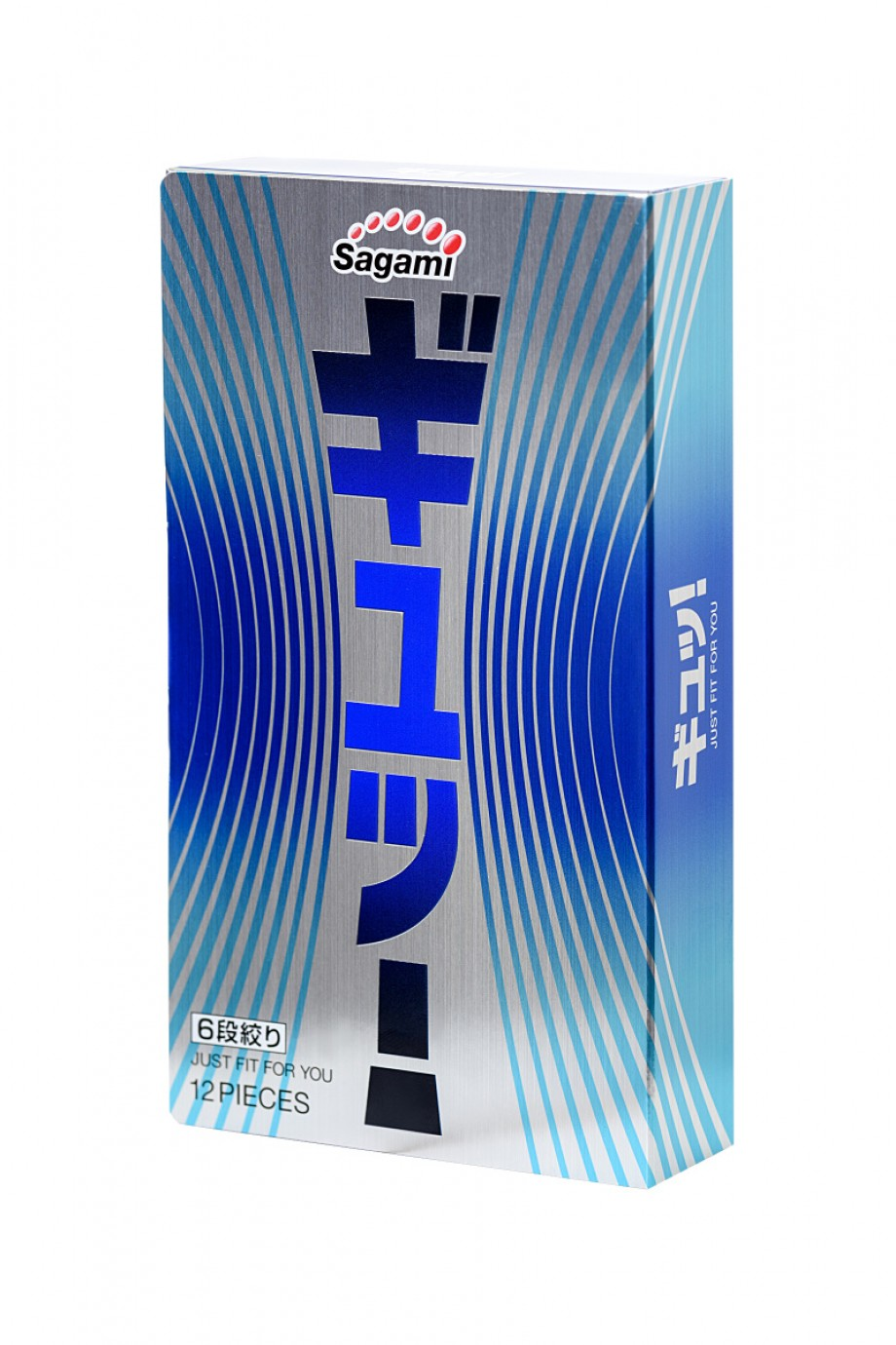 Презервативы латексные Sagami 6 FIT V, 12 шт