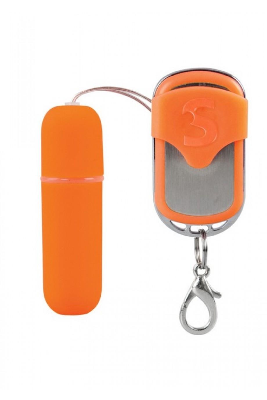 Вибропуля Remote Vibrating Bullet оранжевая