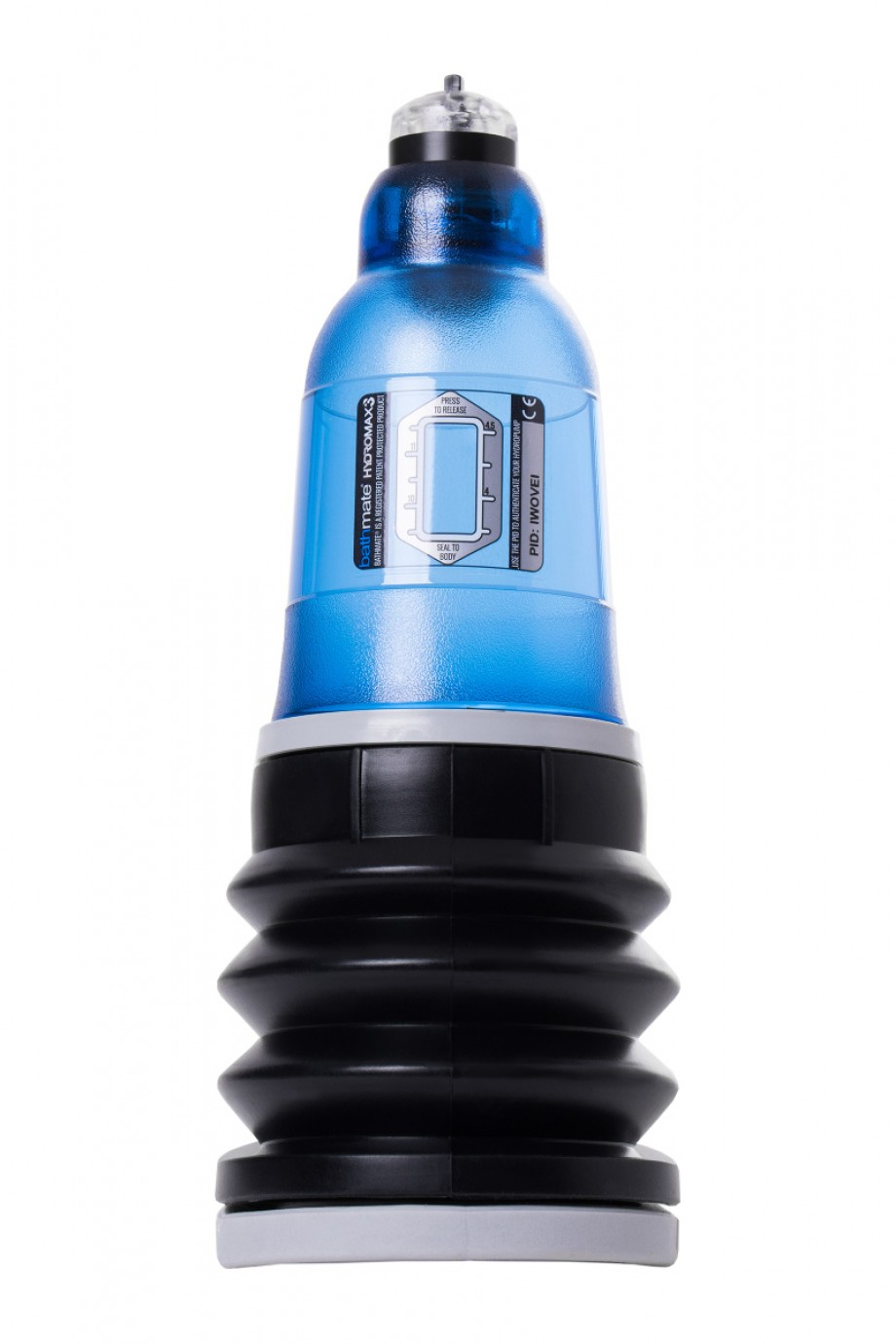 Гидропомпа Bathmate HYDROMAX3, голубая