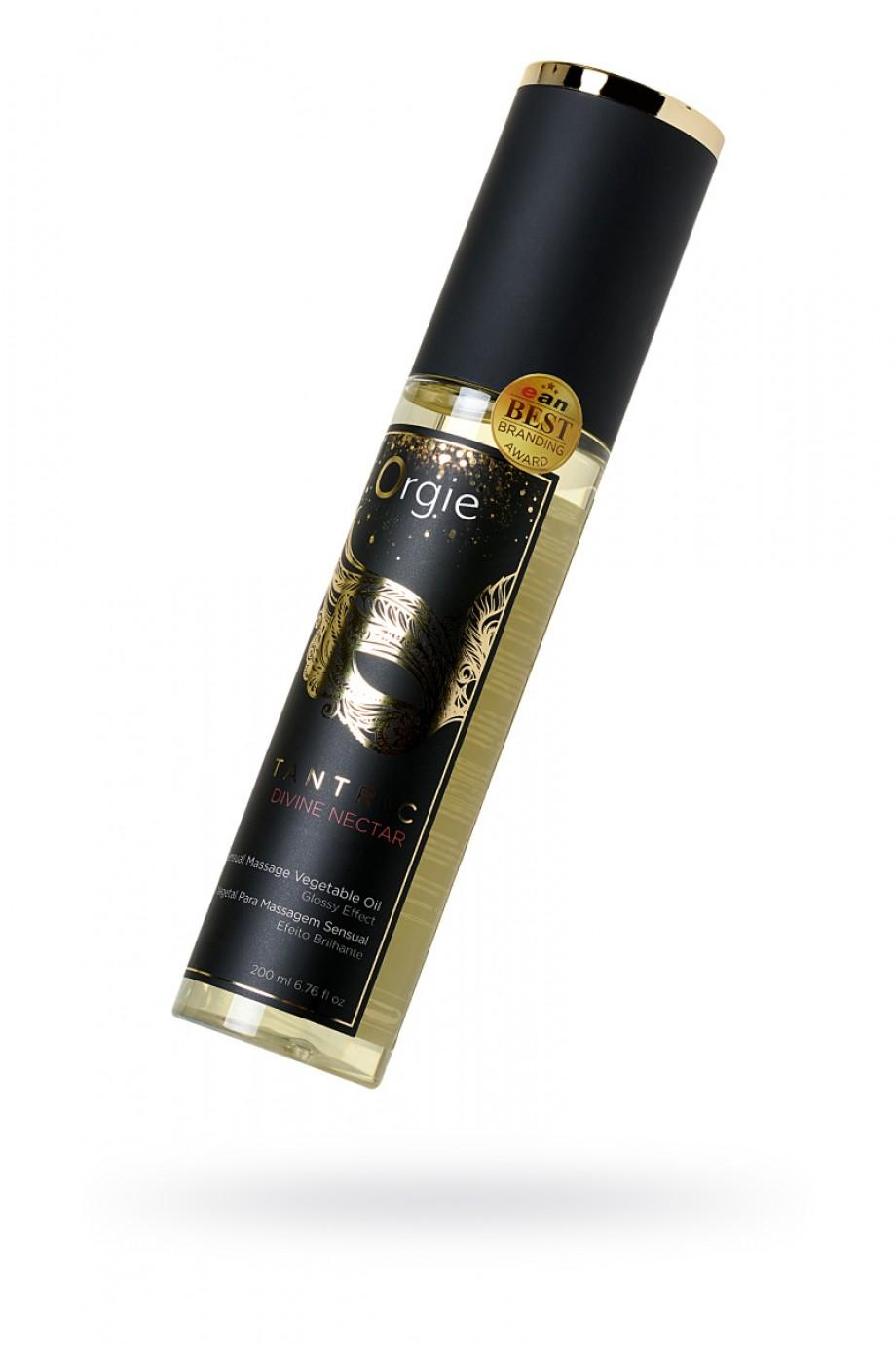 Растительное массажное масло Orgie Tantric divine nectar, 200 мл