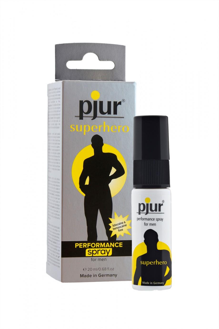 Пролонгирующий спрей для мужчин Pjur Superhero 20 мл