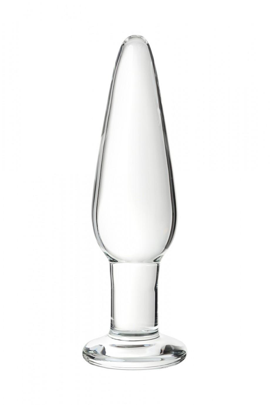Набор анальных втулок Sexus Glass, 14/12,5/12 см, Ø 4/3,5/3 см
