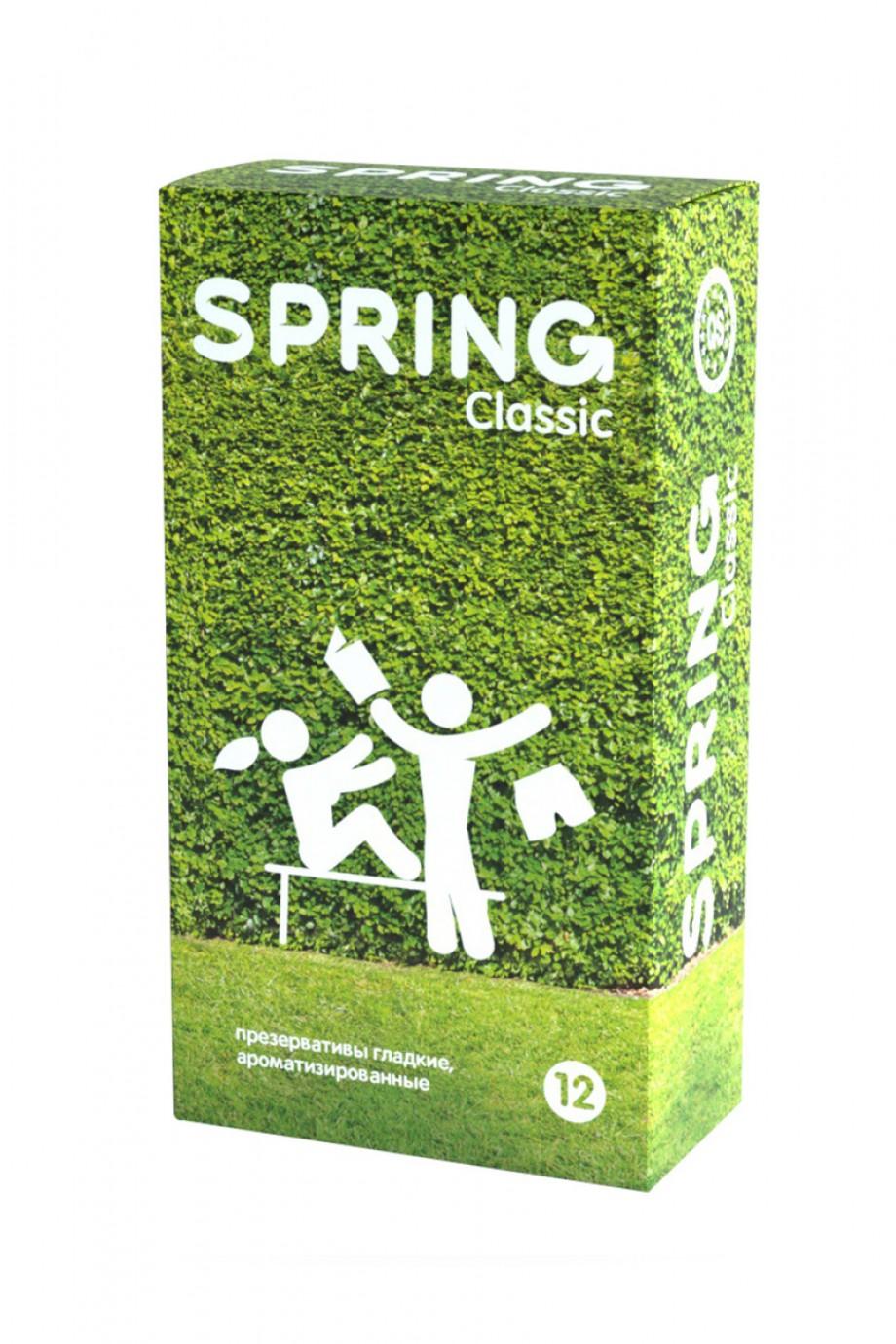 Презервативы Spring Classic, классические, 12 шт