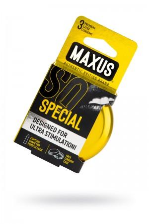 Презервативы MAXUS Точечно-ребристые в железном кейсе