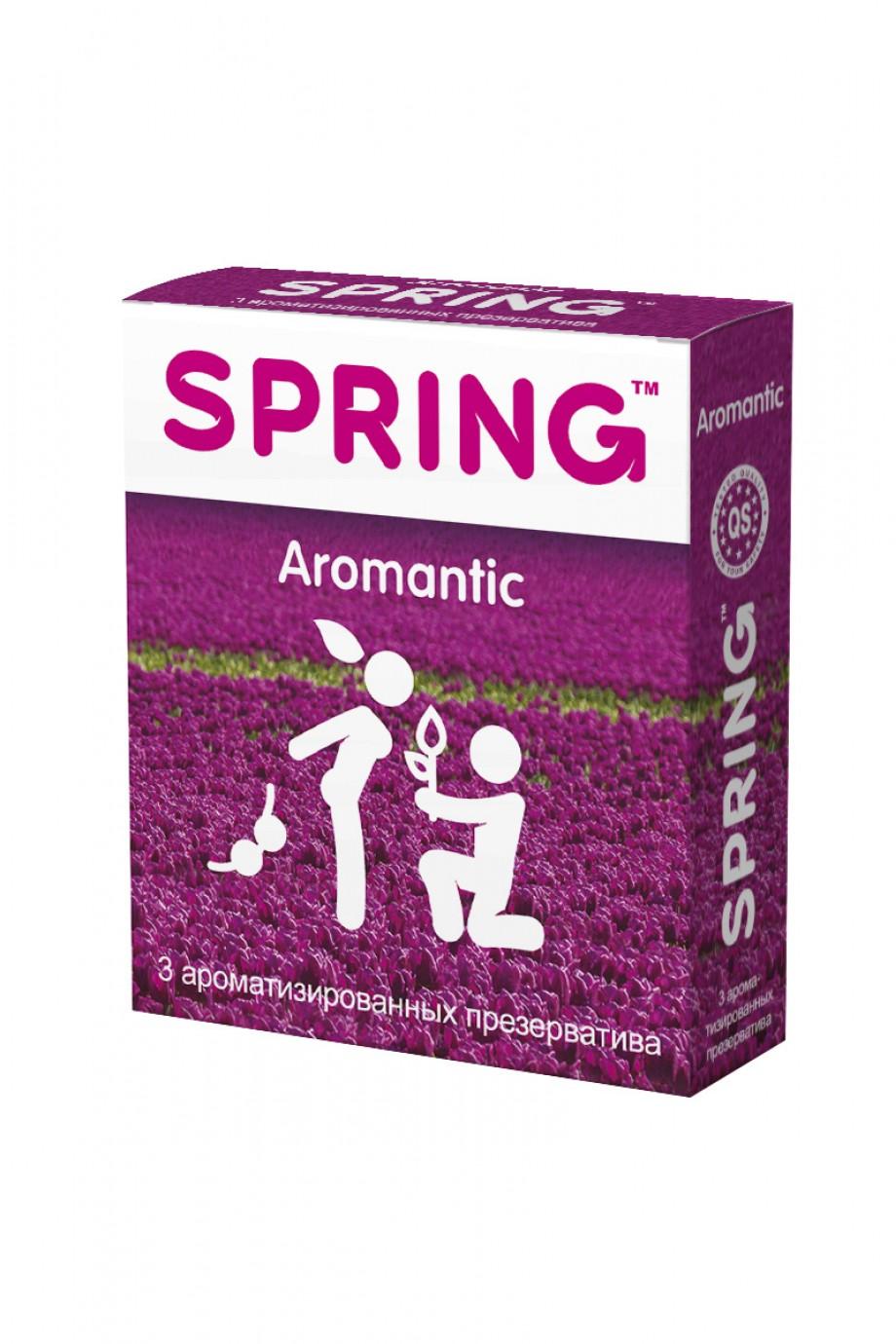 Презервативы Spring Aromantic, ароматизированные, 3 шт