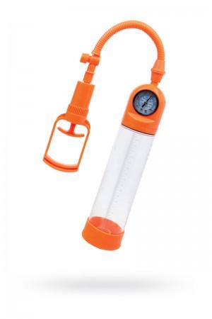 Вакуумная помпа TOYFA A-Toys, Силикон, Прозрачный, 20 см