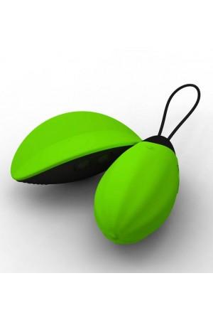 Виброяйцо Bibi зеленое с дист. управлением 5 см