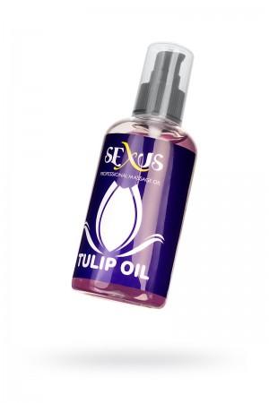 Массажное масло Sexus с ароматом тюльпана Tulip Oil, 200 мл