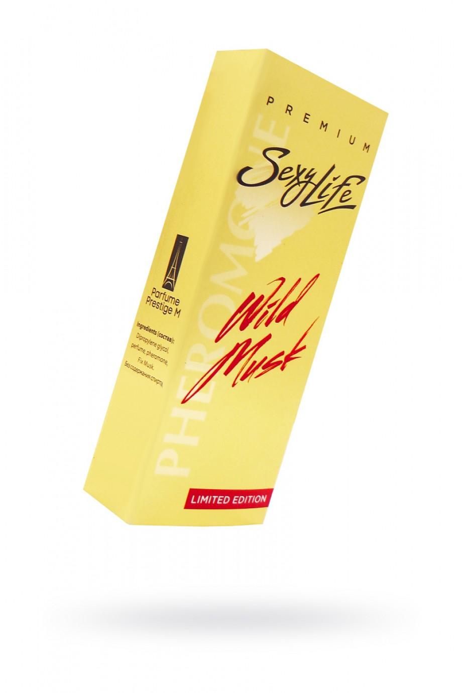 Духи с феромонами Wild Musk №2 философия аромата Eros Versacel, мужские, 10 мл