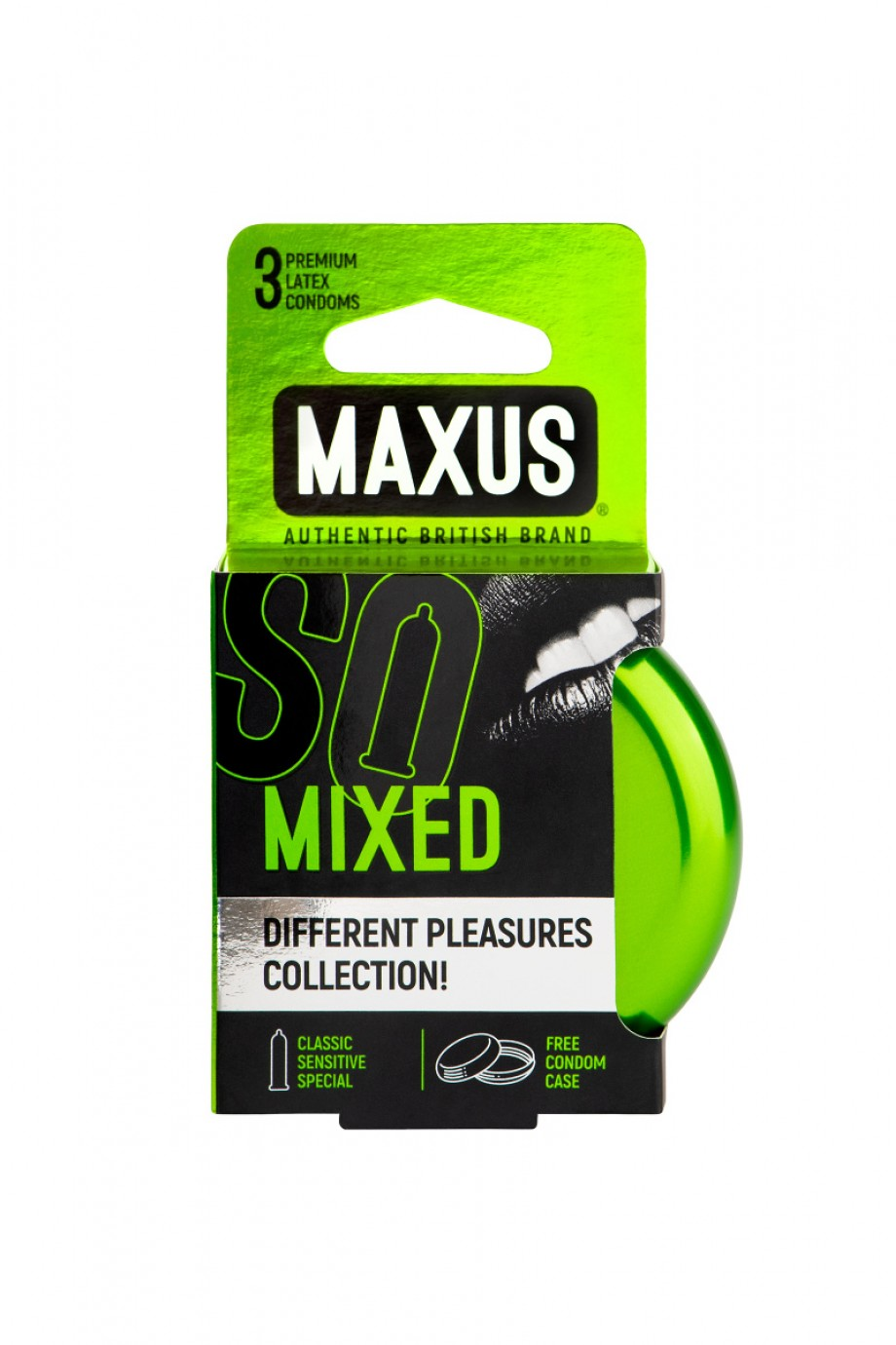 Презервативы MAXUS Набор в железном кейсе