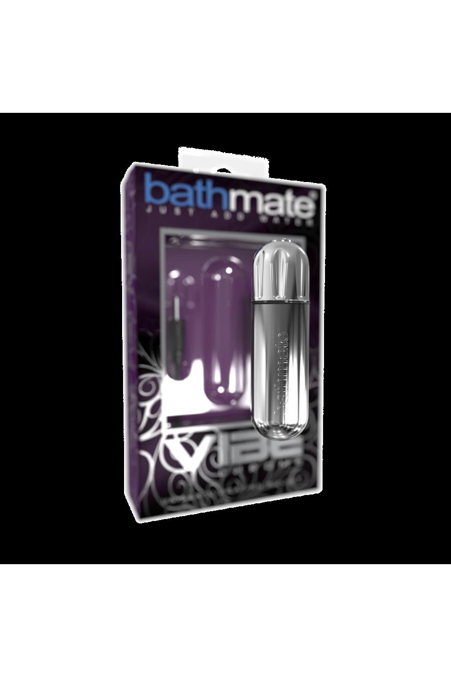 Вибропуля Bathmate Vibe Bullet Chrome